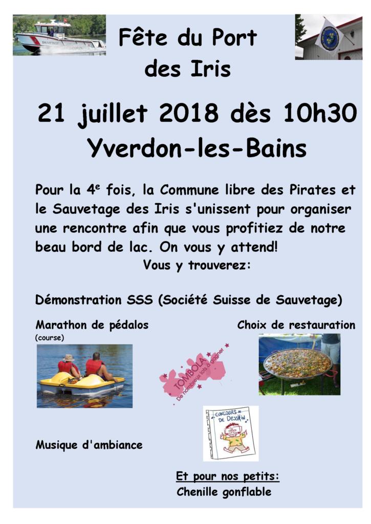 Fête du Port des Iris 2018